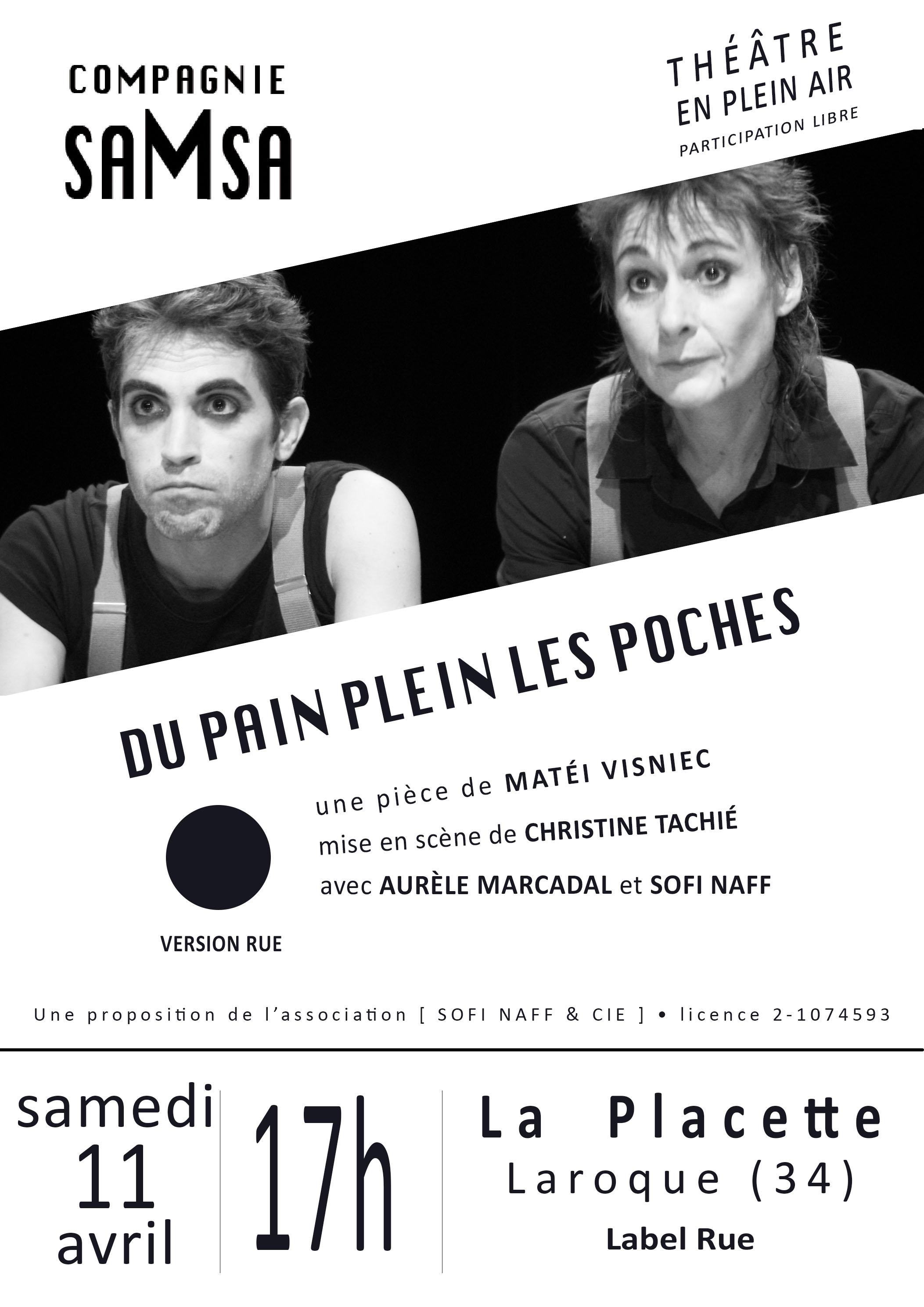 Cie saMsa - Du pain plein les poches - 11.04.2015 - Label Rue