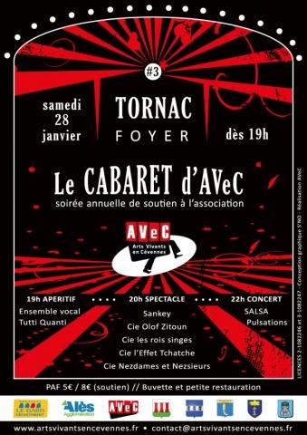 Cabaret d'AVeC#3 - Tornac (30) - 28.01.2017