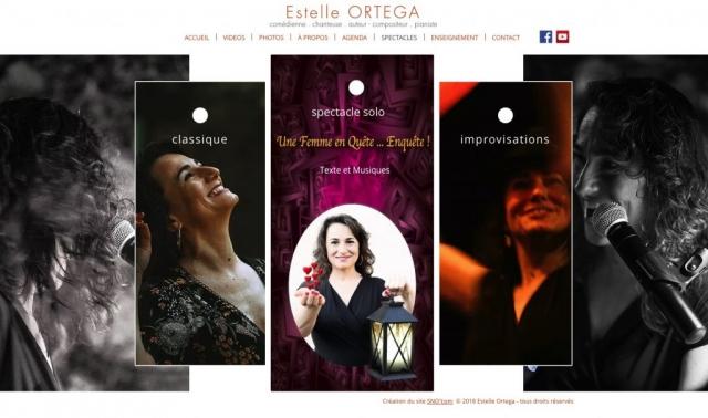 Site - Estelle Ortega - Page spectacles
