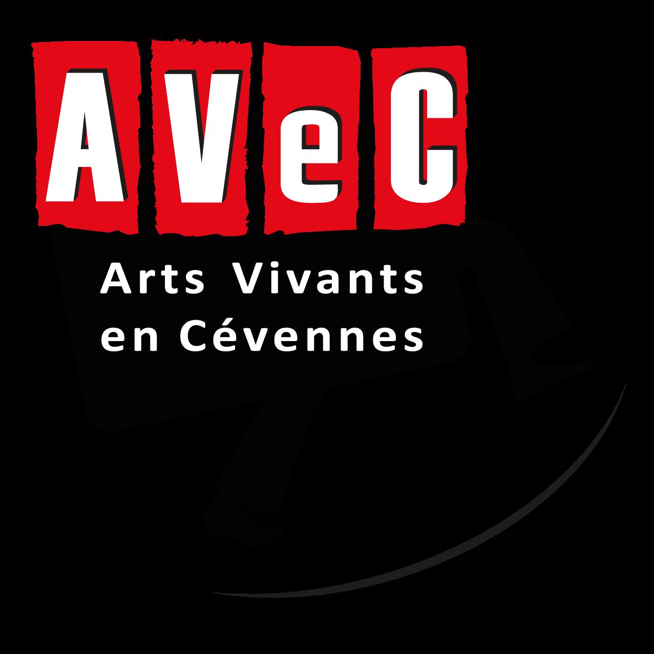 Logo Asso AVeC • Arts Vivants en Cévennes (grand