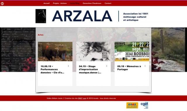 Site Asso ARZALA - Actualités
