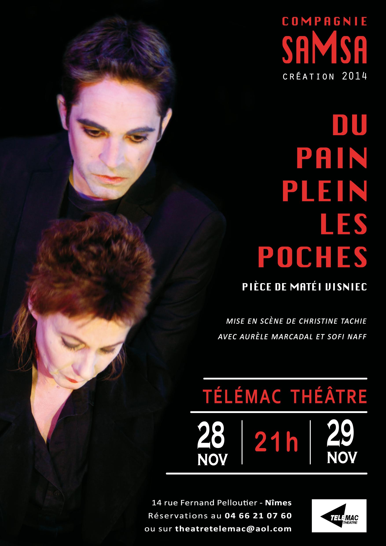 Du pain plein les poches, Cie saMsa - Télémac Théâtre - 28-29.11.2014