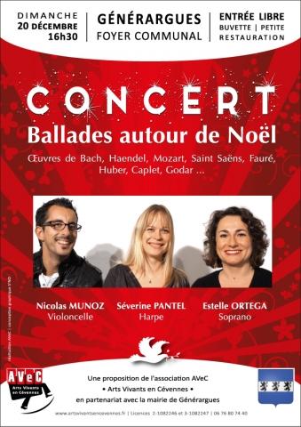 Concert de Nöel à Générargues (30) -20.12.2015