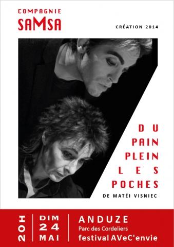 Cie saMsa - Du pain plein les poches - Festival AVeC'envie - 24.05.2015