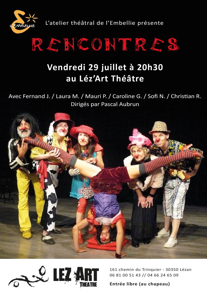 Rencontres - Atelier Léz'Art - 29.07.2016