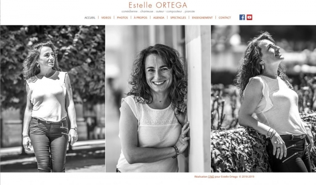Site - www.estelleortega.com - Accueil