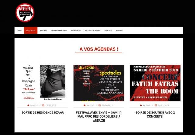 Site - Asso AVeC • Page Actus